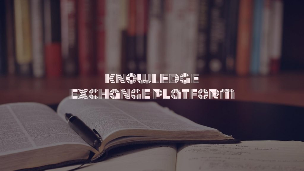 knowledge exchange platform